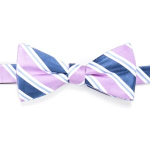 Men's Croft & Barrow® Dexter Striped Self-Tie Bow Tie